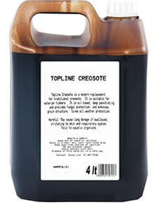 creosote-wood
